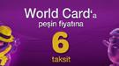 vorld card 6 taksit