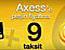 Axess card 9 taksit