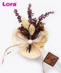 Kuru Çiçekli Yeni Mor Seri - 29115
