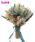 Kuru Çiçekli Gelin El Buketi - 41040