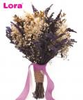 Kuru Çiçekli Gelin El Buketi - 41042