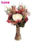 Kuru Çiçekli Gelin El Buketi - 41049