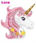 50cm Unicorn Folyo Balon - 98440