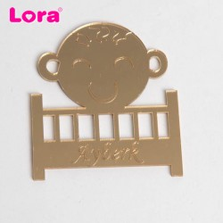 Lazer Kesim Ayna Bebek Bibloları - 96043