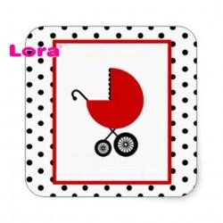 Kız Bebek Şekeri Etiketi - 98205