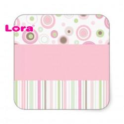 Kız Bebek Şekeri Etiketi - 98215