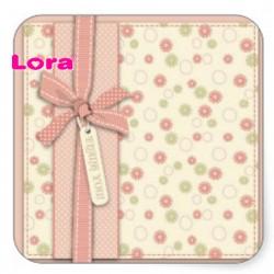 Kız Bebek Şekeri Etiketi - 98218