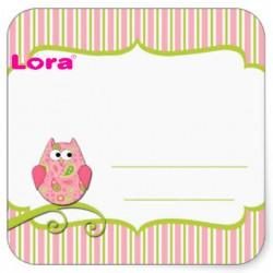 Kız Bebek Şekeri Etiketi - 98230