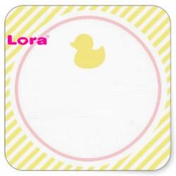 Kız Bebek Şekeri Etiketi - 98245