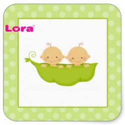 Erkek Bebek Şekeri Etiketi - 98247