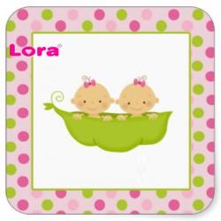 Kız Bebek Şekeri Etiketi - 98248