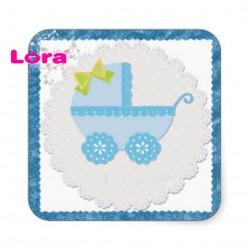 Erkek Bebek Şekeri Etiketi - 98251