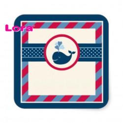Erkek Bebek Şekeri Etiketi - 98252