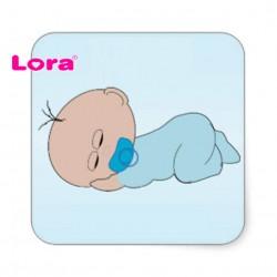 Erkek Bebek Şekeri Etiketi - 98253