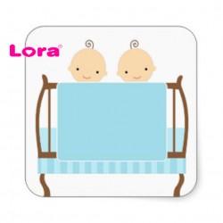 Erkek Bebek Şekeri Etiketi - 98260