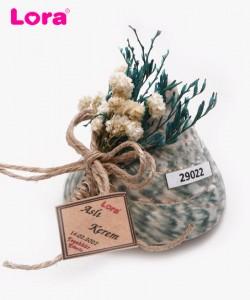 Kuru Çiçekli Yeşil Seri - 29022