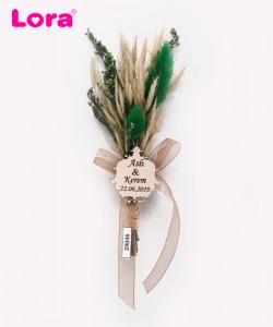 Kuru Çiçekli Yeşil Seri - 29046