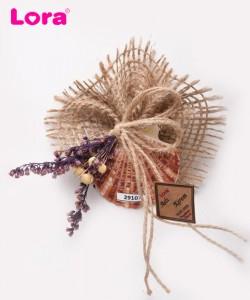 Kuru Çiçekli Mor Seri - 29107