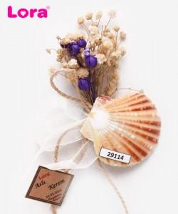 Kuru Çiçekli Mor Seri - 29114