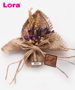 Kuru Çiçekli Mor Seri - 29121