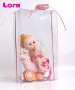 Kız Bebek Asetat Kutulu - 30126