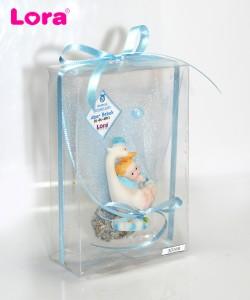 Erkek bebek asetat kutulu - 30168