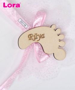Ahşap Biblolu Kız Bebek - 33118