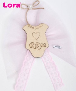 Ahşap Biblolu Kız Bebek - 33122