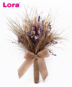 Kuru Çiçekli Gelin Buketi - 41001