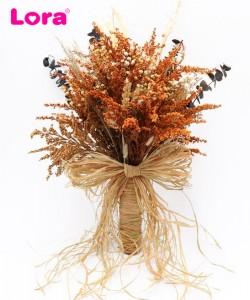 Kuru Çiçekli Gelin Buketi - 41002
