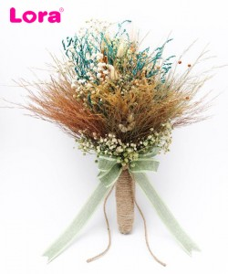 Kuru Çiçekli Gelin Buketi - 41005