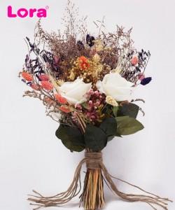 Kuru Çiçekli Gelin Buketi - 41007