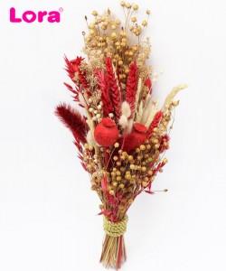 Kuru Çiçekli Gelin Buketi - 41010