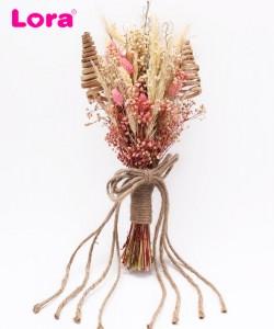 Kuru Çiçekli Gelin Buketi - 41011
