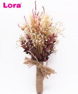 Kuru Çiçekli Gelin Buketi - 41012