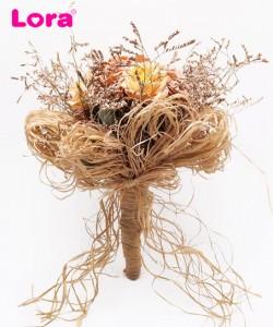 Kuru Çiçek Gelin Buketi - 41014