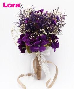 Kuru Çiçekli Gelin Buketi - 41015