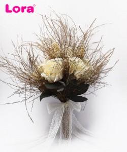 Kuru Çiçekli Gelin Buketi - 41019