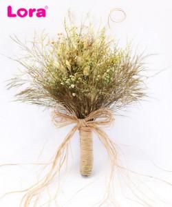 Kuru Çiçekli Gelin Buketi - 41021