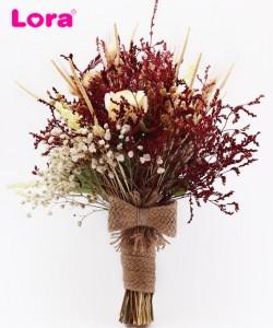 Kuru Çiçekli Gelin Buketi - 41022