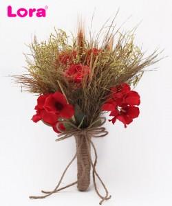 Kuru Çiçekli Gelin Buketi - 41024