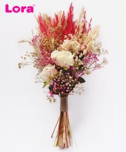 Kuru Çiçekli Gelin Buketi - 41027