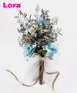 Kuru Çiçekli Gelin Buketi - 41028