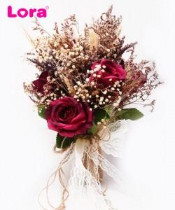 Kuru Çiçekli Gelin Buketi - 41029
