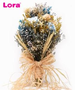 Kuru Çiçekli Gelin Buketi - 41030