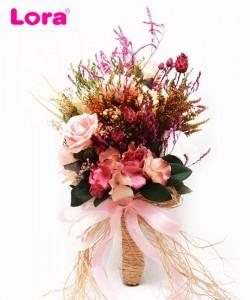 Kuru Çiçekli Gelin Buketi - 41033