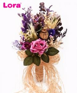 Kuru Çiçekli Gelin Buketi - 41034