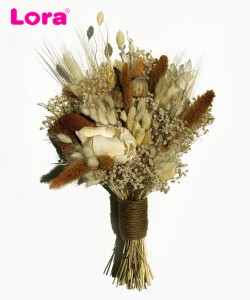 Kuru Çiçekli Gelin Buketi - 41035