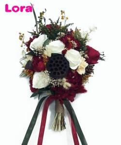 Kuru Çiçekli Gelin Buketi - 41037