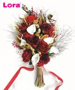 Kuru Çiçekli Gelin Buketi - 41039